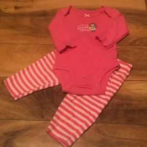 Carter's monkey 2 pc set. Sz 3months